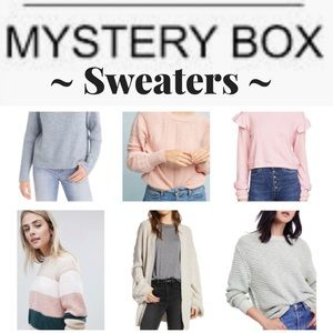 SWEATER MYSTERY BOX - 4 for $50 -  Size M